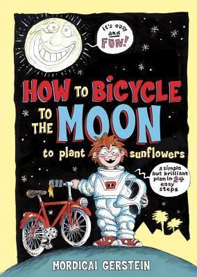In this simple, step-by-step instructional picture book, learn how you too can visit the moon on your bicycle! All you need is a very long garden hose, a very large slingshot, a borrowed spacesuit, and a bicycle . . . and plenty of imagination.
