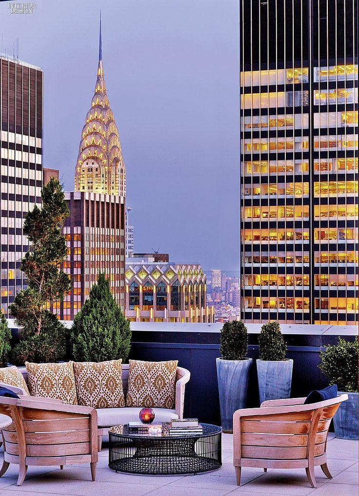 Rooftop New York Palace Hotel - A History of Luxury: HOK Renovates New York Palace   Interior Design