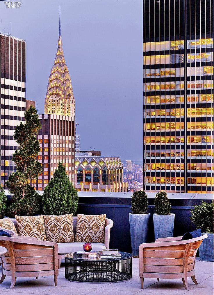 Rooftop New York Palace Hotel - A History of Luxury: HOK Renovates New York Palace |  Interior Design
