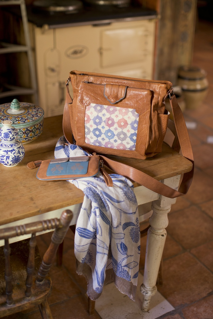 Nancybird SS13/14 - Linda Bag, June Wallet and Linen Scarf