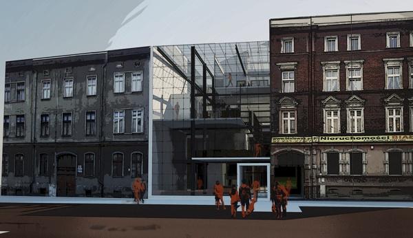 Community Centre by Marta Musiał, via Behance architecture design render