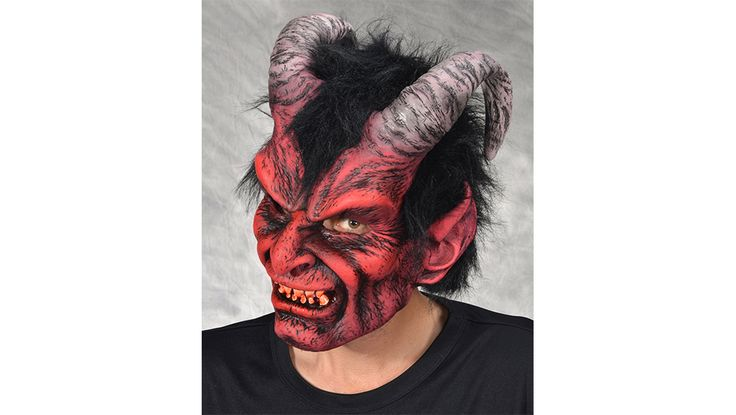 Diablo (Devil) Mask SKU: MB1008 The devil brought to life exciting great terror and fright from your audience. The mask has great definition and the artistic paint job is spot on. Diablo can be worn as a stand alone costume and is comfortable and easy to wear.