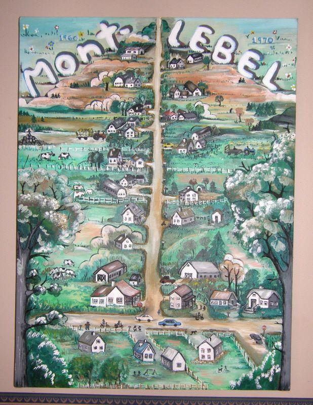 Le Mont-Lebel de mon enfance.