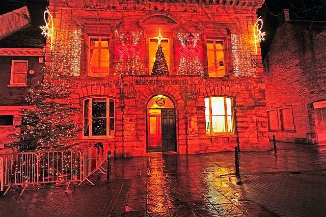 Witney Oxfordshire Christmas Lights 2008