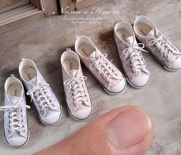 Nunu's House miniature shoes