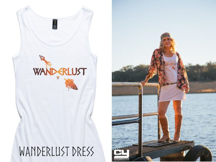 PRE-ORDERS HERE:  https://pozible.com/project/launch-a-t-shirt-company   I kept imagining the feeling of the warm sun on my skin,  sunset at the beach... & cocktails when I was designing this ;)  NB - The belt & kimono are not included.  (I know, I said boo too!!)