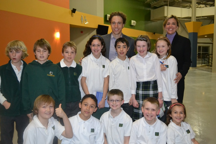 Clanmore Montessori Upper Elementary children and Craig
