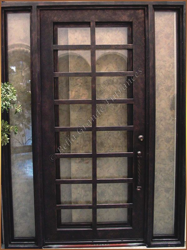 7 best Wrought Single Modern Doors images on Pinterest Entry