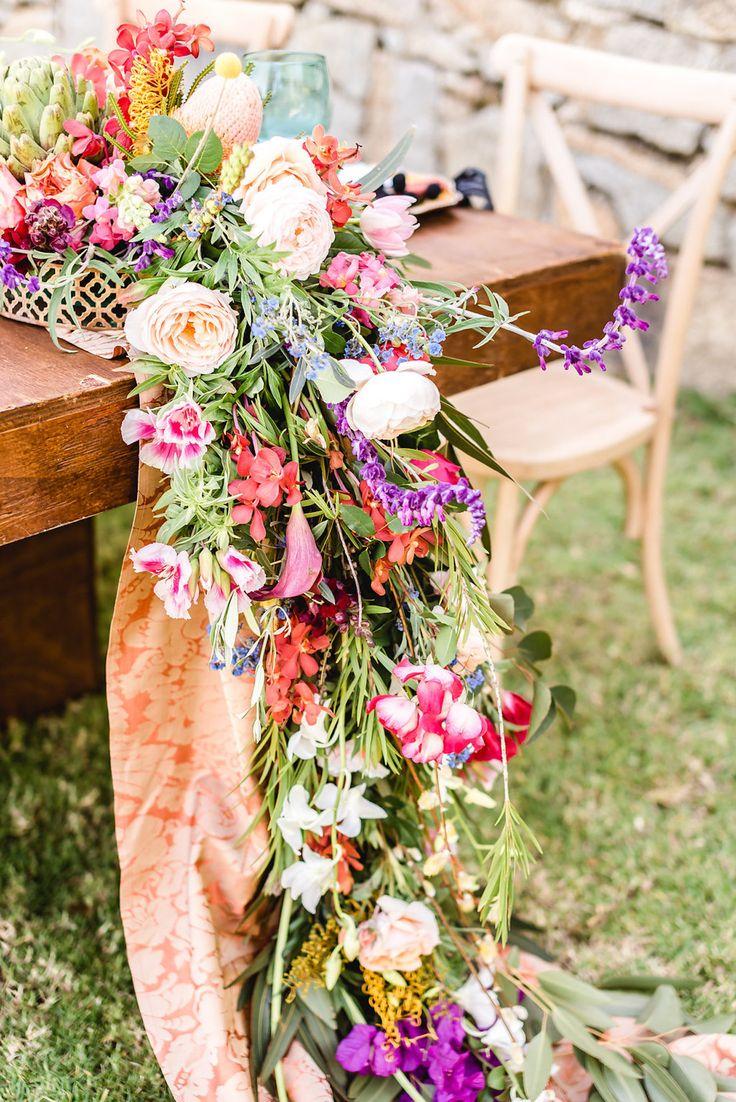 Colorful Floral Runner   Credit: Jacoba Clothing/PhotoKru