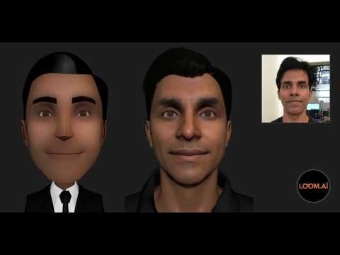 Loom.ai can automatically create a 3D avatar of your face from a single selfie | GamesBeat | Games | by Dean Takahashi