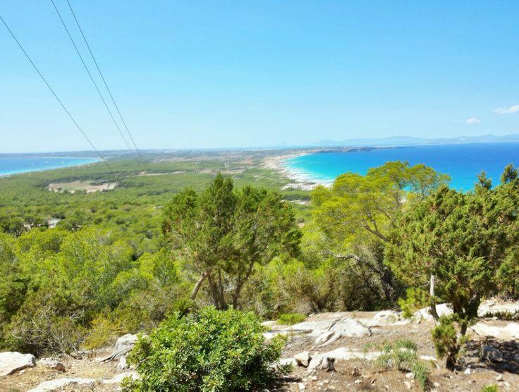 El Mirador #ristorante #Formentera vista mare