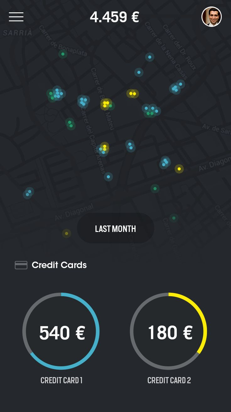 Transactions map || glowing buttons might be easier to use than a bunch of pins all stacked together