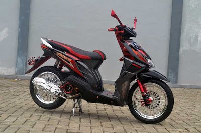 Modifikasi Motor Beat Lama 2010 2013 2014