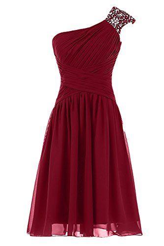 Sunvary One Shoulder Chiffon Short Prom Dresses Homecoming Dresses - US Size 2- Burgundy Sunvary http://www.amazon.com/dp/B00LIJQ3SK/ref=cm_sw_r_pi_dp_bh4Mub0WZK0ZB