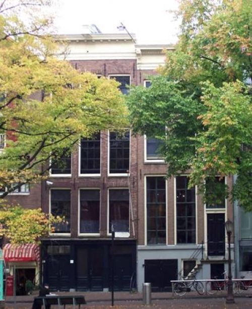 Anne Frank-huis, Prinsengracht te Amsterdam