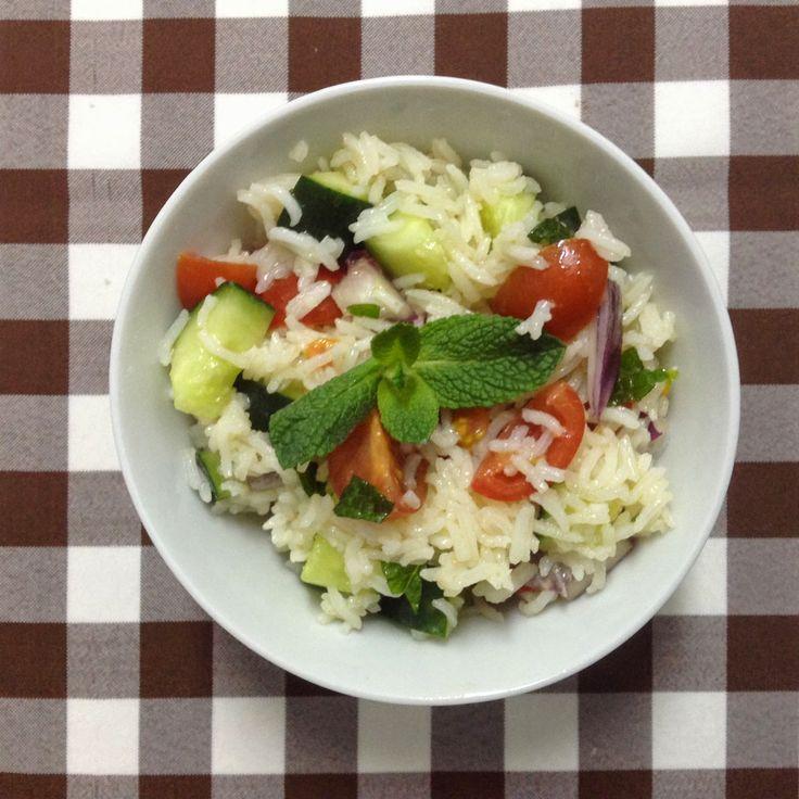 Twinkle Twinkle Little Vegan : Salada de Arroz Persa