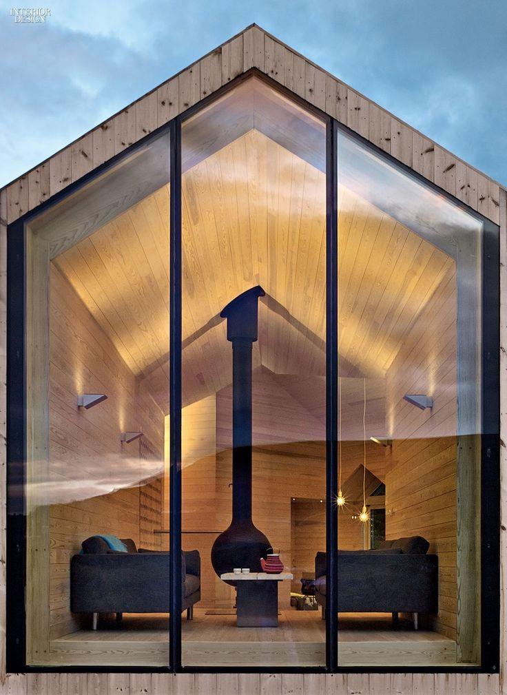 17 migliori idee su case piccole moderne su pinterest for Piccole planimetrie di casa di tronchi
