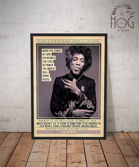 Quotes About People Who Notice: Best 25+ Jimi Hendrix Poster Ideas On Pinterest
