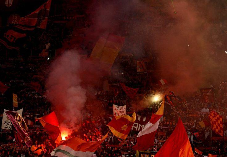 Roma-Catania 4-0 #SerieA #Calcio #ASRoma #Curvasud