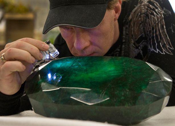 World's largest emerald 57500 carat