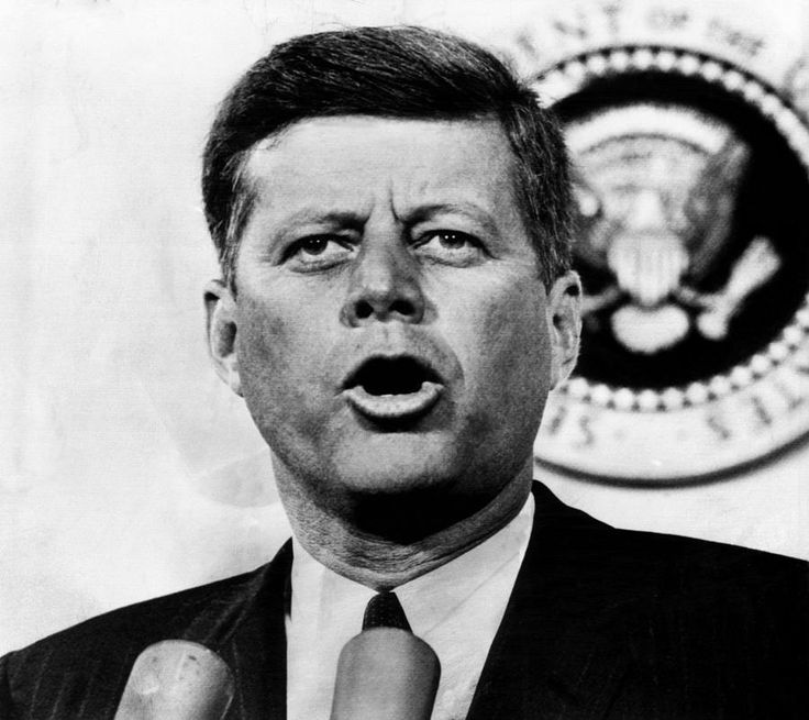 John F. Kennedy, after the senate killed his compromise old-age healthcare plan by voting to table it, Washington D.C., July 17, 1962.