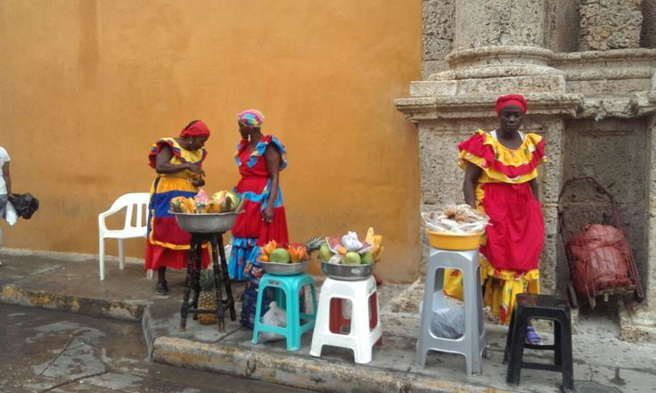 Palenqueras-Cartagena-Bolivar-Colombia