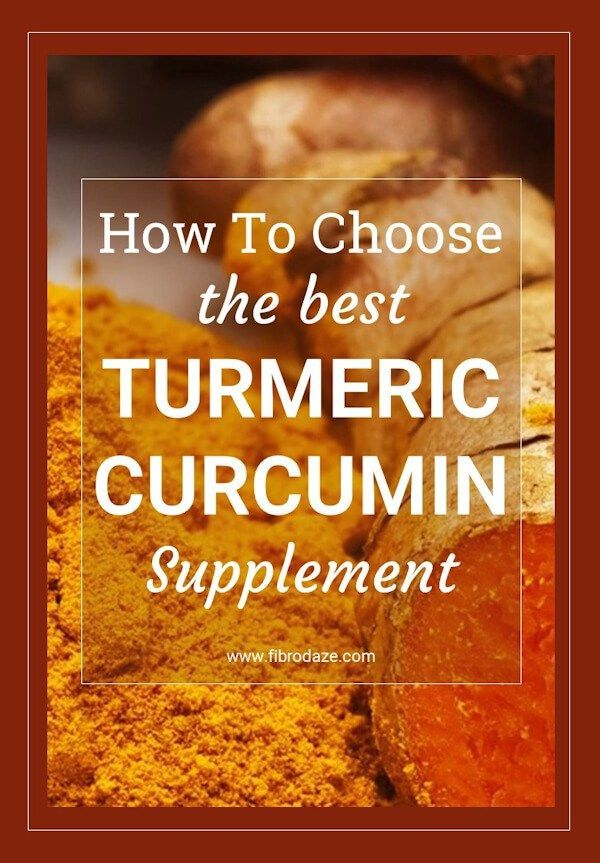 How to choose the best turmeric curcumin supplement