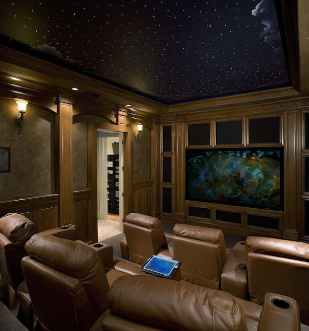 15 Awesome Basement Home Theater Cinema Room Ideas: 83 Best Images About My Future Home Theater On Pinterest