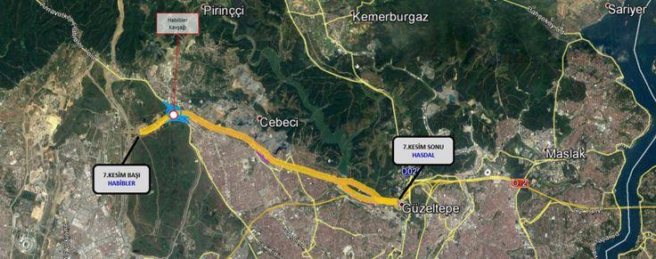 KESİM-7 (HABİBLER - HASDAL) | Kuzey Marmara Otoyolu (KMO)