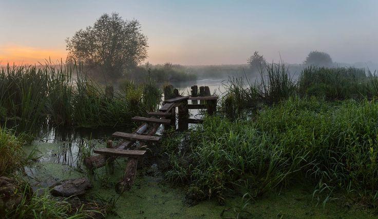 Morning at the old bridge by Alexandr Bredikhin on 500px