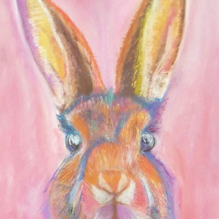 I feel the spring and the Easter is around the corner with this cute bunny 😊💖 from @rad112   Check out her store for more colorful paintings 😍❤  www.RatherPastels.etsy.com  .  #paintings #customportrait  #marchmetthemaker #etsysellers #bunny #rabbit #bunniesofinstagram #abstract #colourful   #oneofakind #justforyou #fineart #abstractart #animals #petportraits #friyay #smallbiz #mycreativebiz