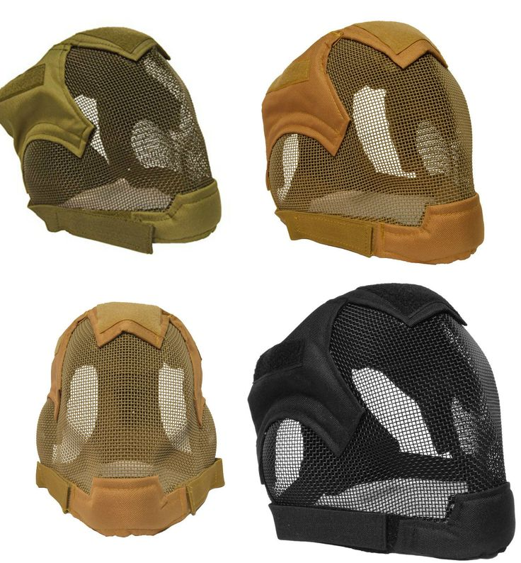 #Airsoft #quality full face #fencing mask bb gun ear mesh mask protection mask ma,  View more on the LINK: 	http://www.zeppy.io/product/gb/2/272366762266/