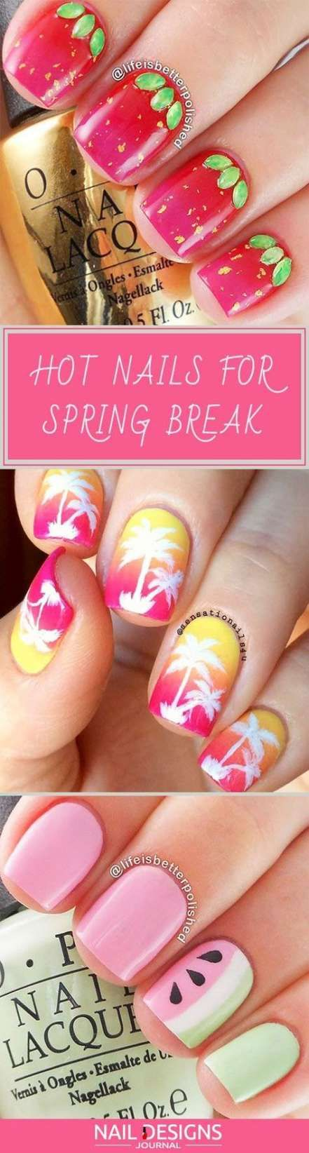 Nails Design Spring Break 50+ Ideen