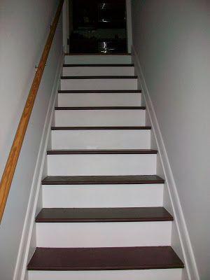 Pine Tree Home: Painted Stairs- Three