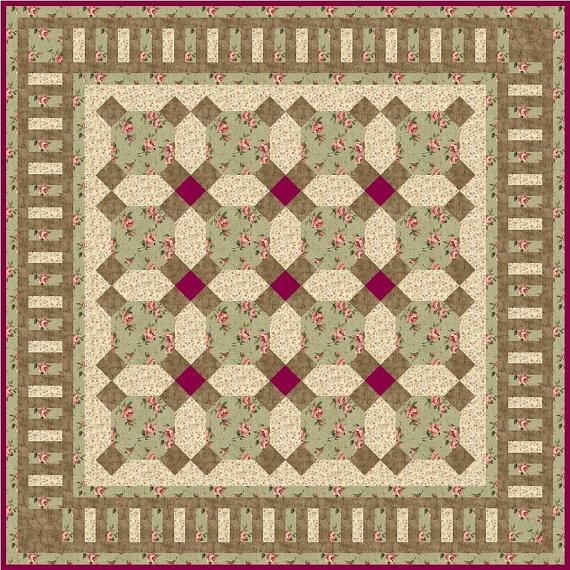 GRANDMA'S FEATHER BED  QuiltAddicts Precut by quiltingaddiction, $79.00