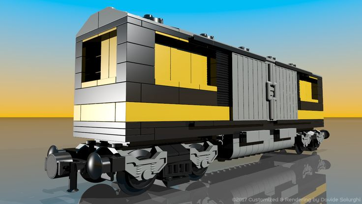 Lego 7898: Cargo Train Deluxe - Customized by Davide Solurghi (Morpheus) HD