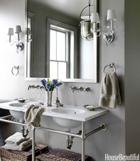 Small Bathrooms House Beautiful 211 best bathroom images on pinterest | decorating bathrooms