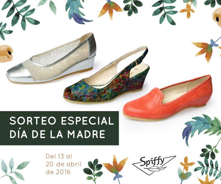 SORTEO ESPECIAL DÍA DE LA MADRE. Participa en Facebook y gana unos zapatos SPIFFY para el Día de la Madre.