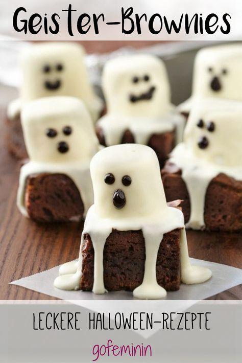 """Diese Brownies sind """"spuktakulär"""" und dürfen an Halloween nicht fehlen!"""