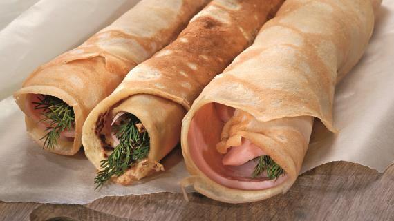 Овсяные блины с ветчиной. Пошаговый рецепт с фото, удобный поиск рецептов на Gastronom.ru