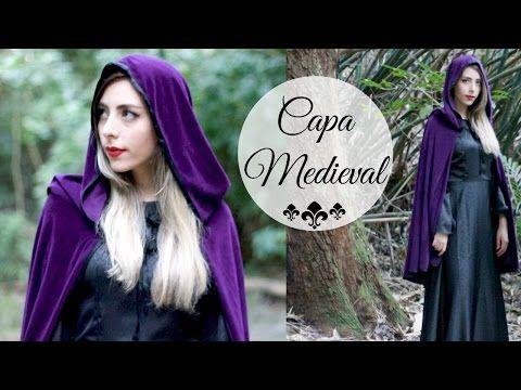 Capa medieval de veludo com capuz | #VEDA9 - YouTube