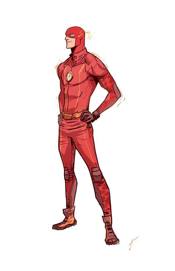 The Flash tv series versión on Behance
