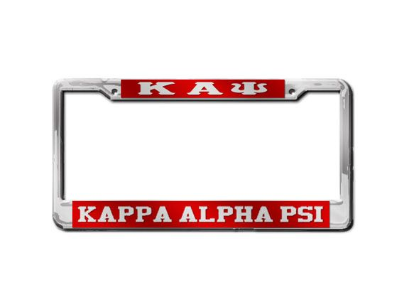 NUPEMALL | Kappa Alpha Psi | Kappa Alpha Psi License Plate Frame - Kappa Alpha Psi | Online Store Powered by Storenvy
