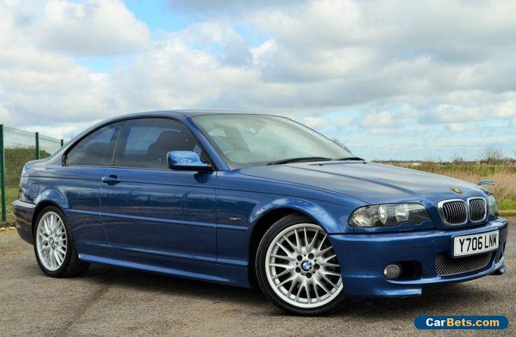 2001 (Y) BMW E46 330 Ci SPORT 3.0 MANUAL COUPE -BLUE- LEATHER - FSH - FULL MOT!! #bmw #330cisport #forsale #unitedkingdom