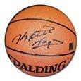 Keith Van Horn Autographed Spalding Indoor Outdoor Basketball