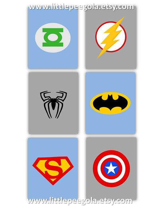 Unique Super Hero Nursery Ideas On Pinterest Super Hero - Superhero wall decalssuper hero wall art etsy