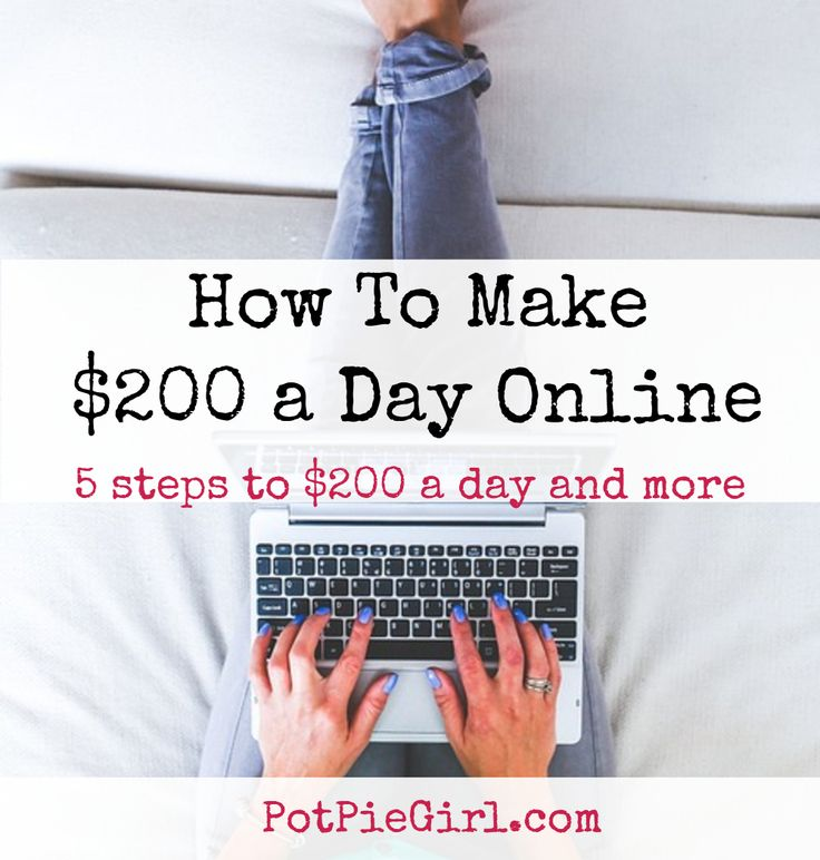 "$200 a day – sure would be nice to make that online, wouldn't it? I know for myself, as with a lot of people, that kind of income made from home can really be… well, it can be life changing. Sadly, too many give up on internet marketing before they get there. They let their heads get filled with ideas like ""easy"" and ""fast"" and ""simple"". It's not easy, fast, and simple – BUT… it IS DO-ABLE. This is how I got there – and how you can get there, too. How To Make $200 a Day (or more) Online"