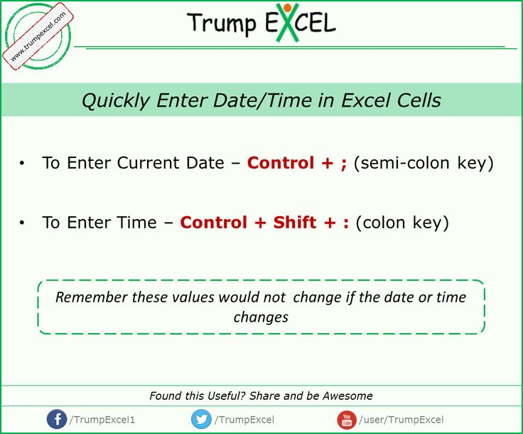 Excel current date in Perth