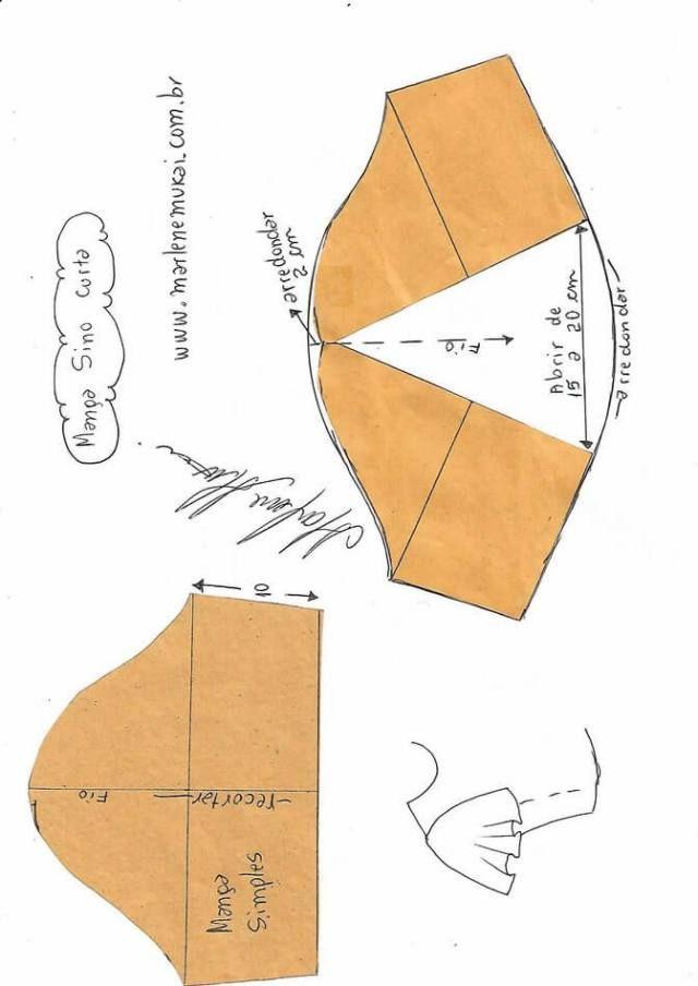 Formas de transformar el patrón para las mangas | mccalls patterns ...