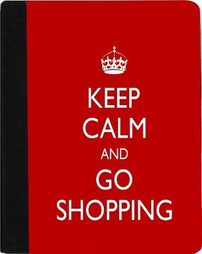 Rikki KnightTM Keep Calm and Go Shopping - Red Color Kindle® FireTM Notebook Case Black Faux Leather - Unisex (Not for Kindle Fire HD) by Rikki Knight. $48.99. The Kindle® FireTM Notebook Case made out of Black Faux Leather is the perfect accessory to protect your Kindle® FireTM in Style providing the ultimate protection your Kindle® FireTM needs The image is vibrant and professionally printed - The .gif Kindle® FireTM Case is truly the perfect gift for yourself or yo...